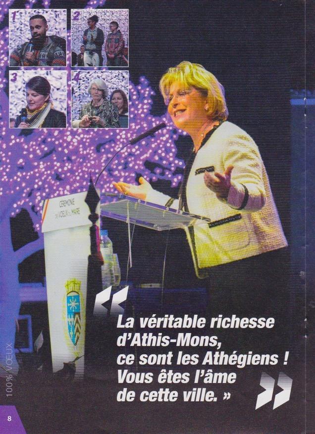 Les Voeux du Maire de laVille d'Athis-Mons 2019