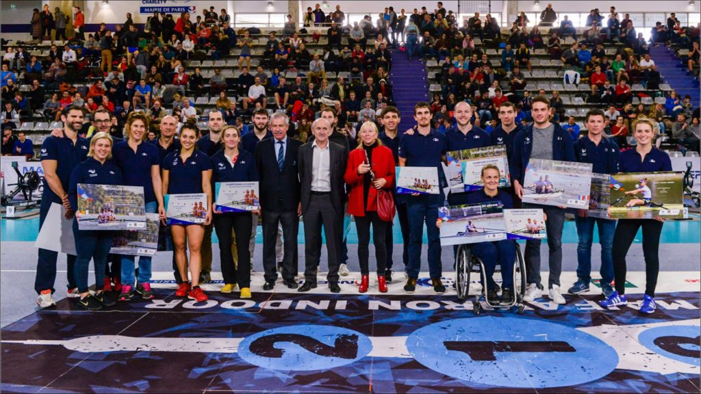 CHAMPIONNATS DE FRANCE D'AVIRON INDOOR 2019