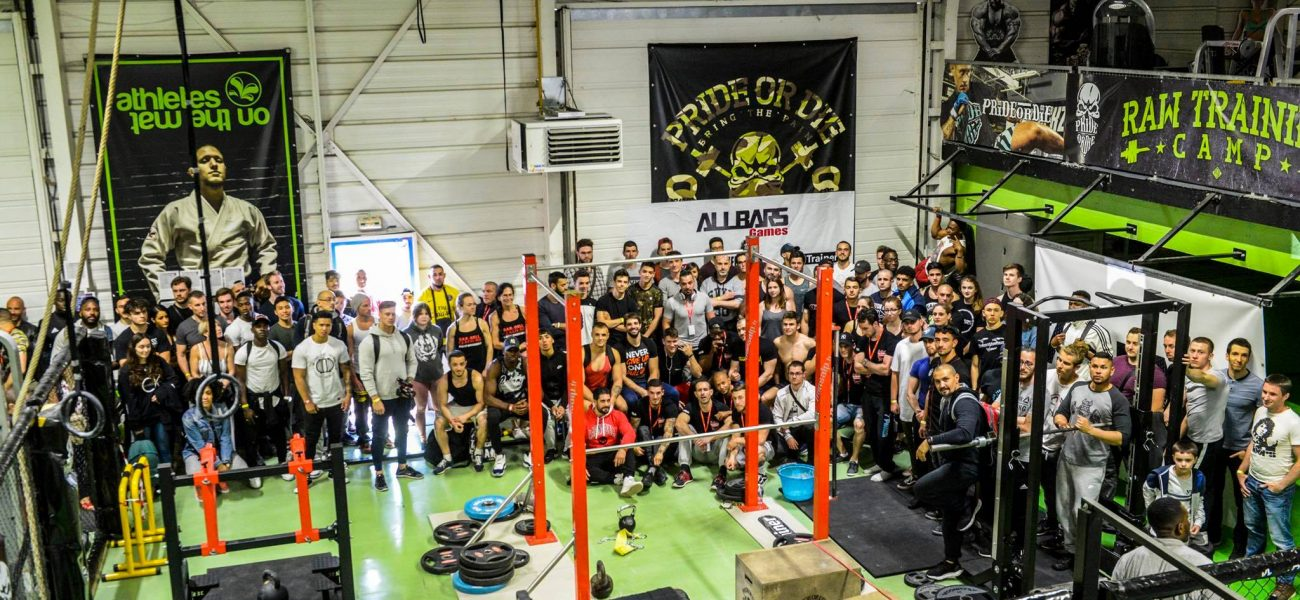 Compétition internationale AllBars Games – Street Workout – Street Lifting