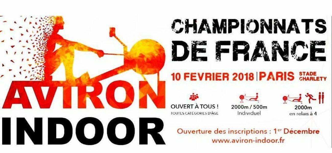 Championnats de France d'Aviron Indoor 2018