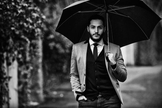 séance photo homme en extérieur sur paris