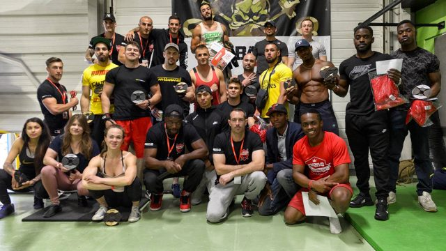 Compétition internationale AllBars Games - Street Workout - Street Lifting