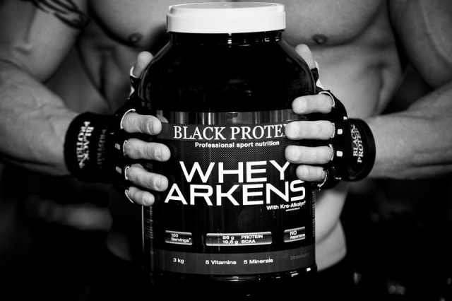 Black Protein  pack shoot